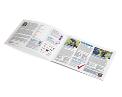 School sport training brochure - inner pages