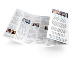 Music festival leaflet design - inner