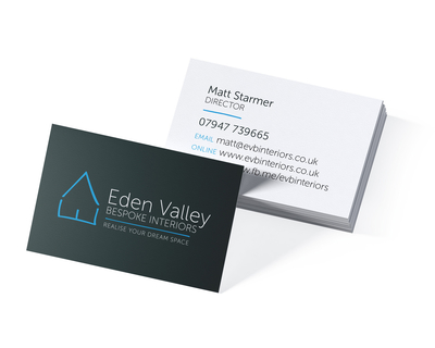 Eden Valley Bespoke Interiors - business card