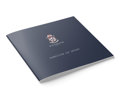 Winchester College Director of Sport vacancy brochure - cover