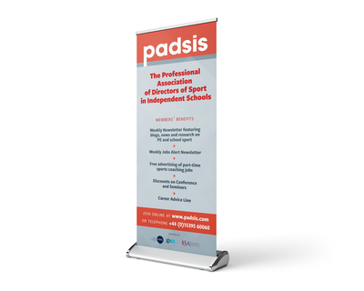 PADSIS rollup banner design