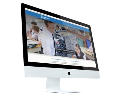 Sarah Munden Education website design - desktop